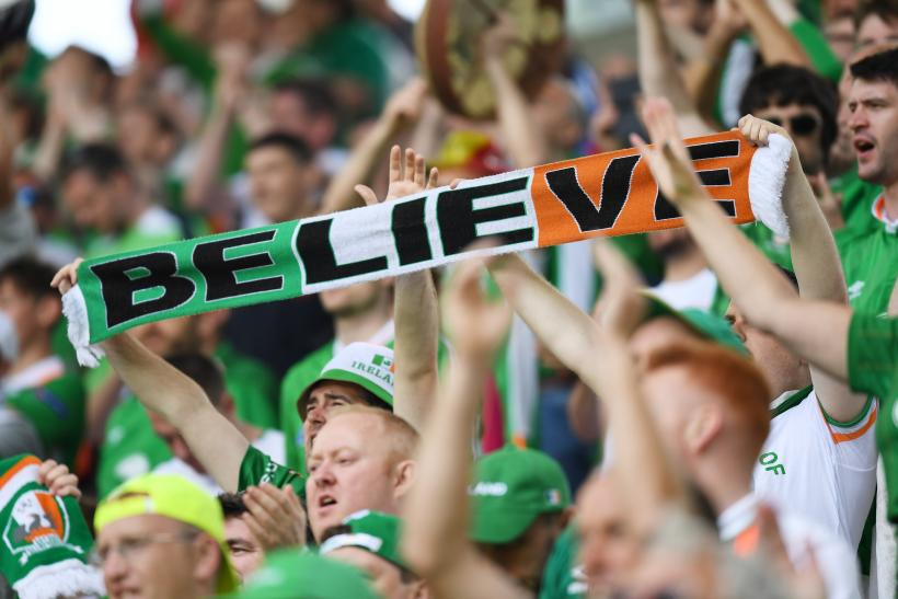 Republic of Ireland fans Euro 2016