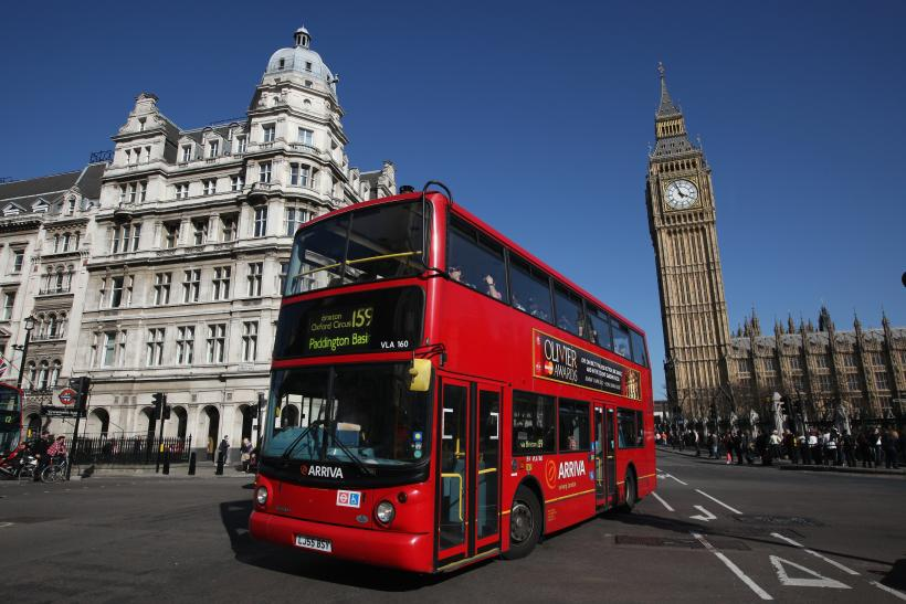 london parliament bus