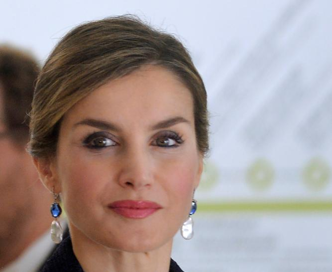 Queen Letizia gives away a trophy to mom-in-law Queen Sofia