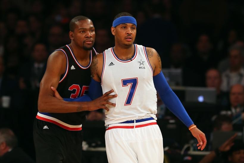 Kevin Durant Carmelo Anthony