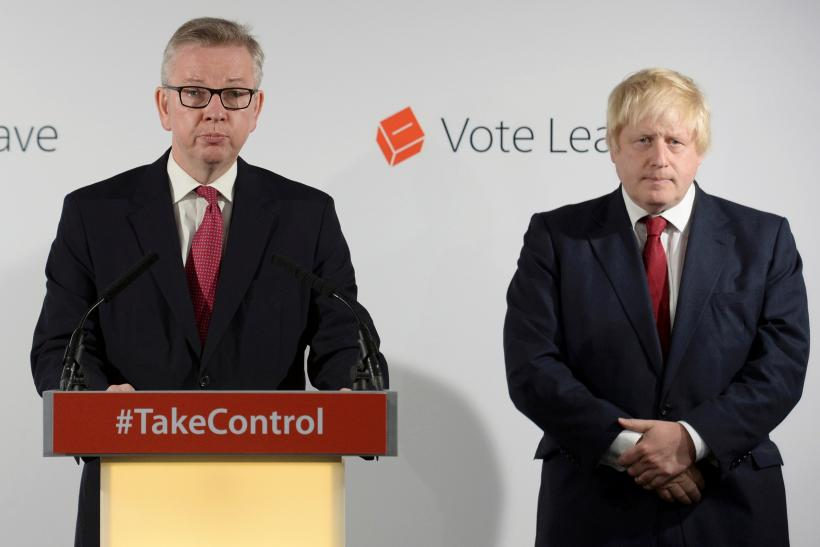 Michael Gove put a quick end to Boris Johnson's campaign to become the next U.K. Prime Minister.