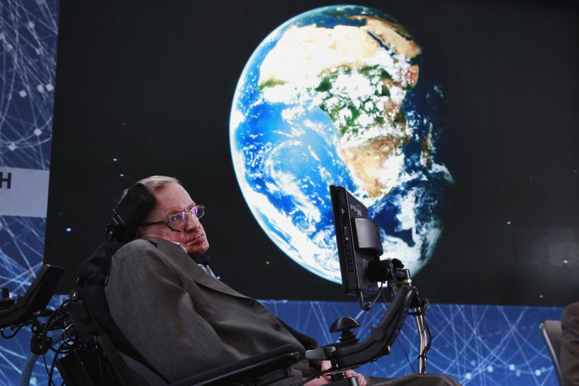 Stephen hawking death threat