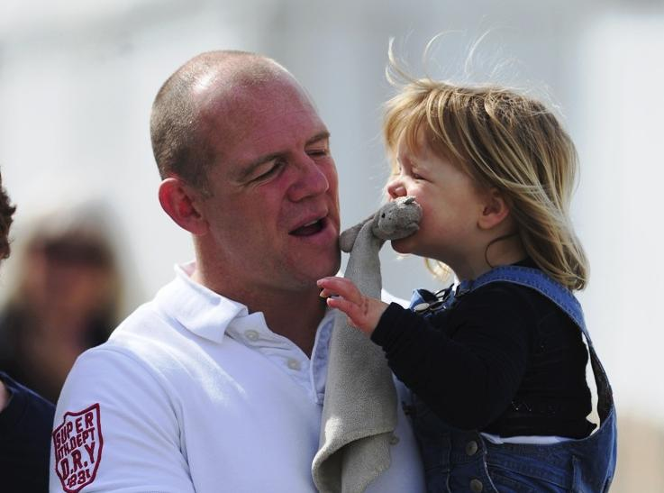 Mike Tindall and Mia Tindall