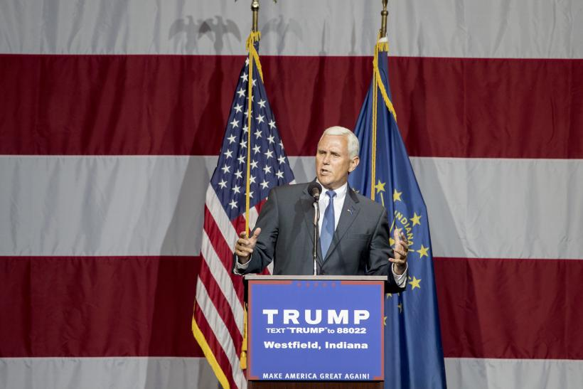 Trump introduces Mike Pence as 'my partner in this campaign'