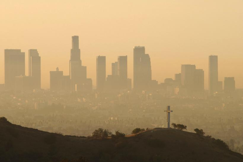 air pollution california