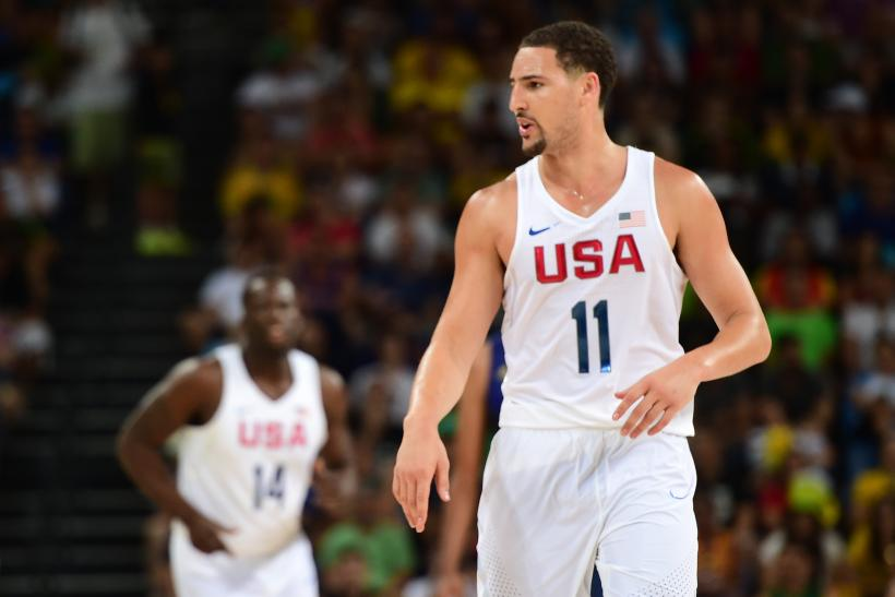 klay thompson team usa 2016