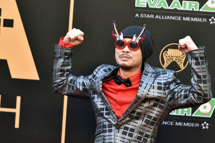 Malaysian singer Namewee arrives to attend the 27th Golden Melody Awards in Taipei on June 25, 2016.