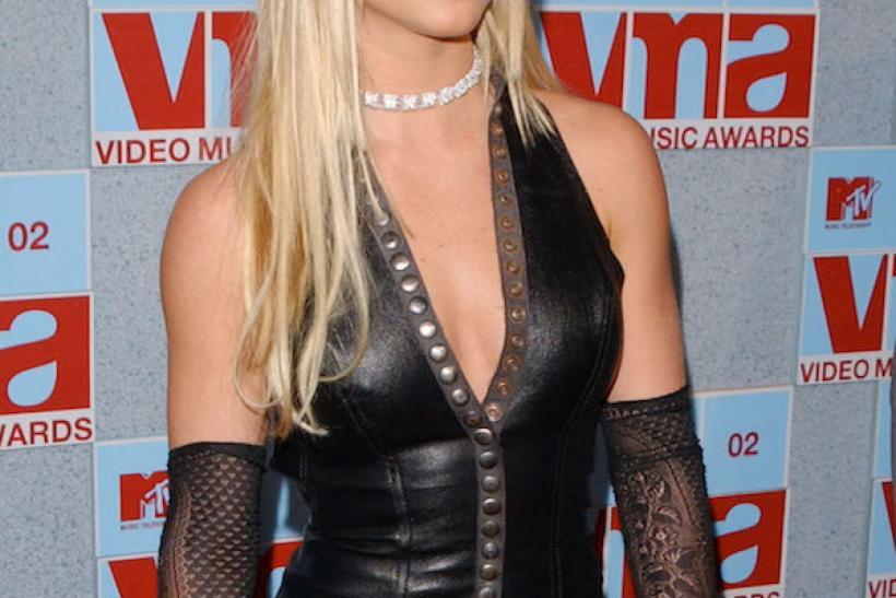 Britney Donned A Dominatrix Look For The 2002 MTV VMAs