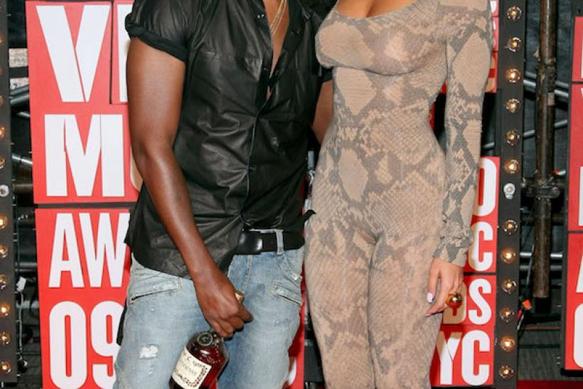 Skintight Body Suits Are A Popular Funky MTV VMAs Look - Ahhhh Amber and Kanye