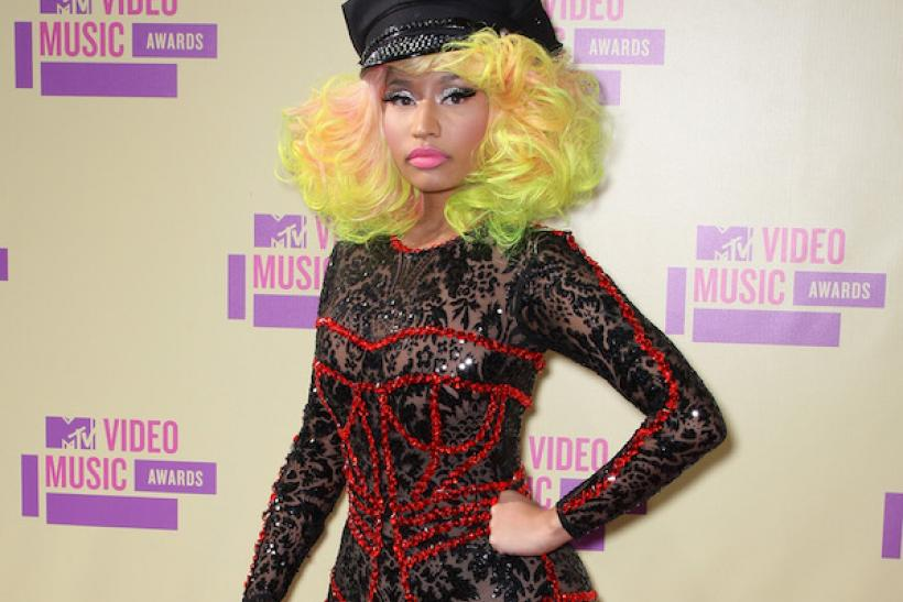 Here's Nicki Minaj In 2012 Wearing A Lacy Sparkly Bodysuit .... And ...