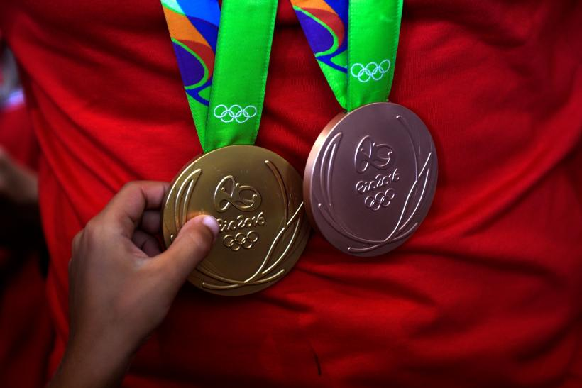 Olympic medal found by Atlanta girl