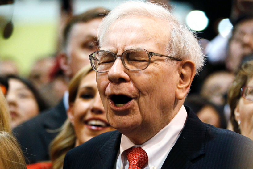 Warren Buffett celebrates his 86th birthday.