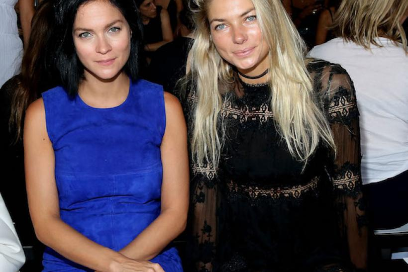#18: Leigh Lezark and Jessica Hart At Dion Lee
