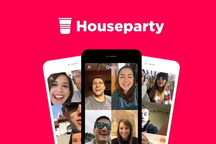 Houseparty app for iOS and Android