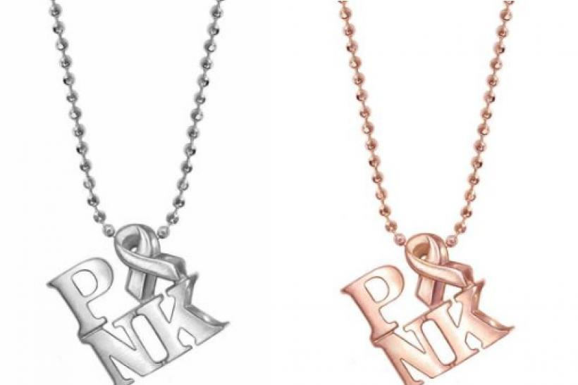 Buy An Alex Woo Activist PINK Icon Necklace And They'll Donate 20% To The Cause