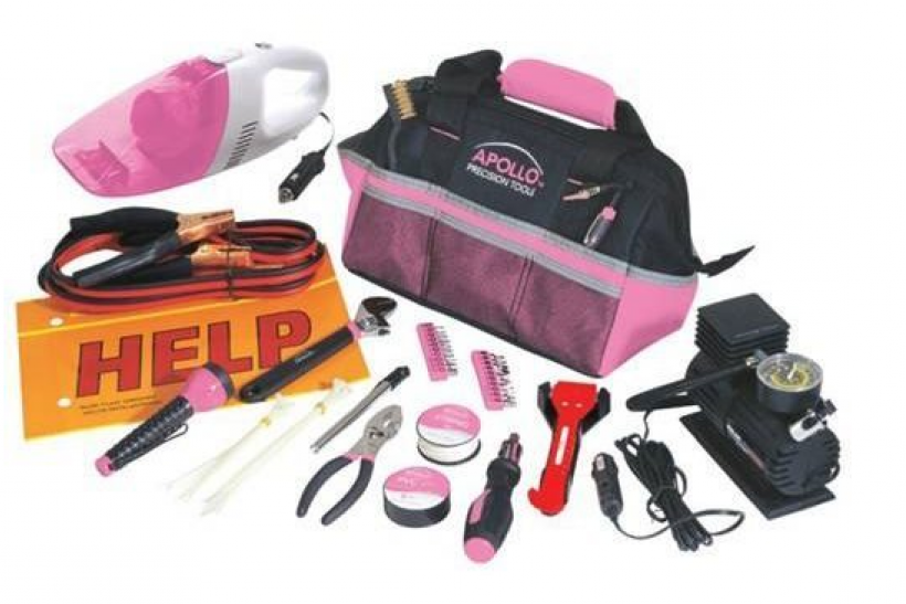 Pretty Up Your Ride With This Roadside Tool Kit That Is both Functional AND Stylish!