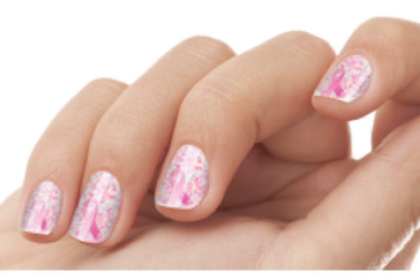 Save On Your Salon Mani And Give To The Cause With Glossique Nail Wraps