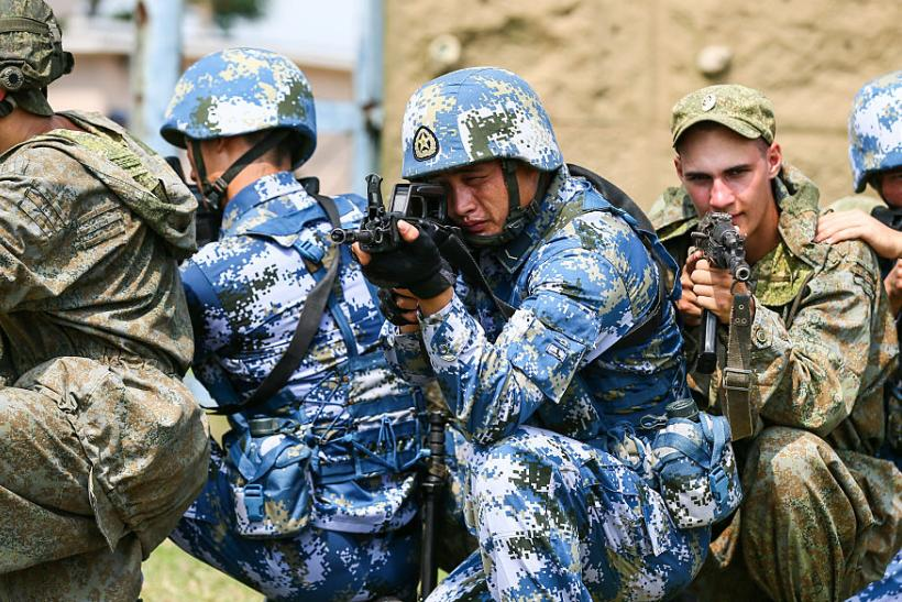 War Games: Russia And China Join Forces Against Global US