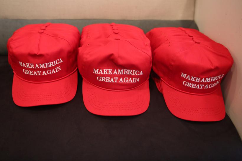 SAPD officers Trump hats