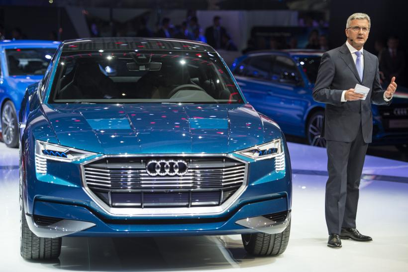 Audi ETron Companys First AllElectric Car Series Slated For - Audi car series