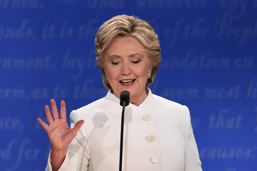 Hillary Clinton says she will not be taking any more naps after wrapping up the final presidential debate.