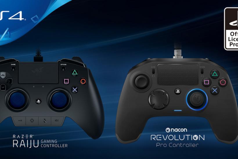Sony Announces 2 Licensed 'Elite' PS4 Controllers From Razer, Nacon