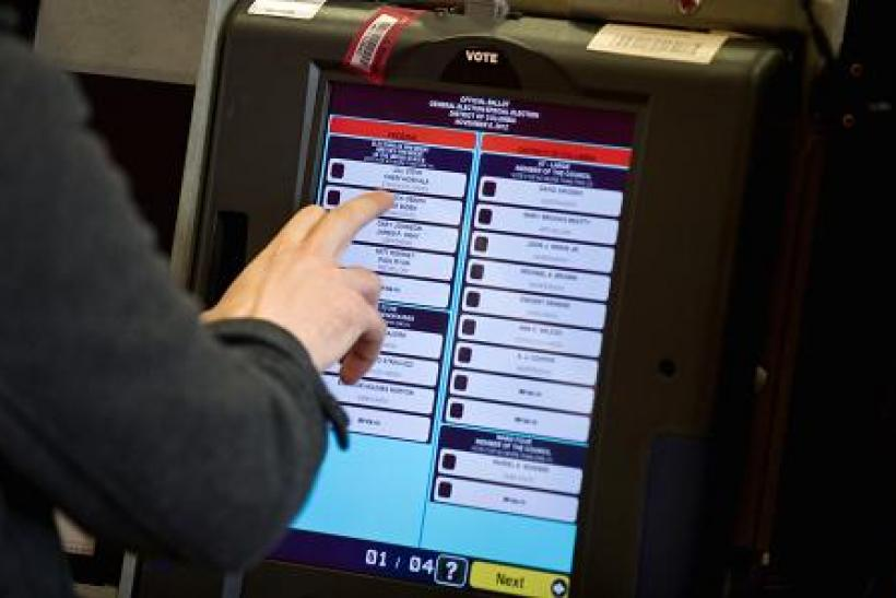 election 2016 rigged safe hackers cyber attacks hacking election vote voting machines