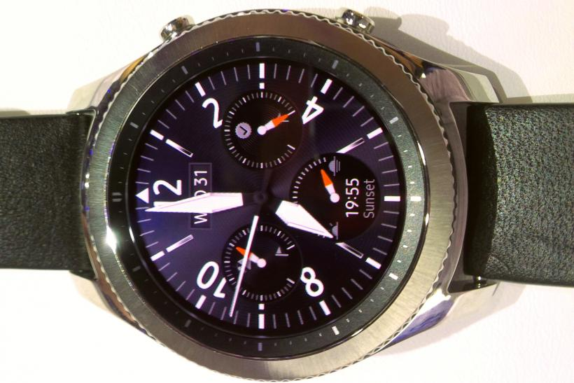 Gear S3 Frontier Launched