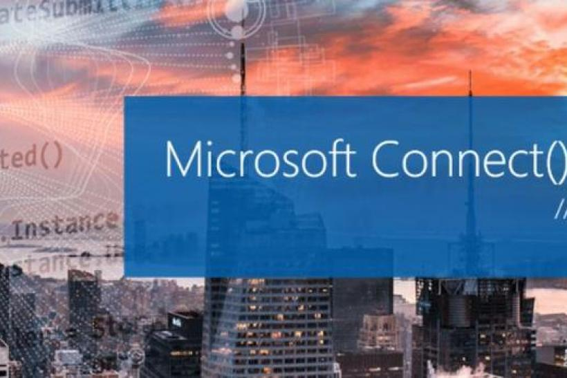 microsoft connect 2016 developer event