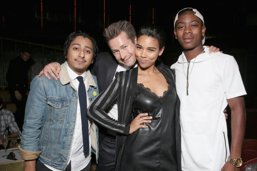 Tony Revolori, Glen Powell, Alexandra Shipp, and RJ Cyler
