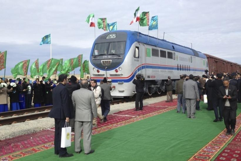 Turkmenistan opened first railway link to Afghanistan on Monday.