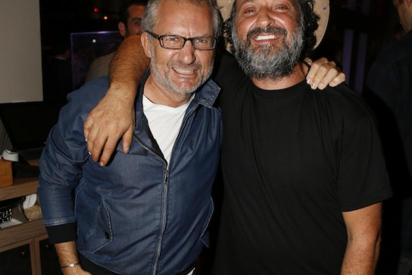 Laurent Fraticelli and Mr. Brainwash