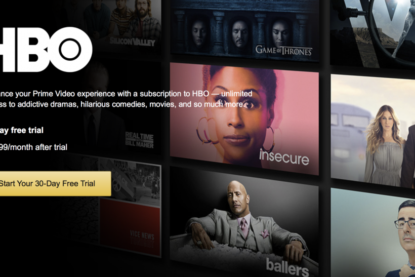 Amazon Prime HBO: Premium Networks Now Available, But For A