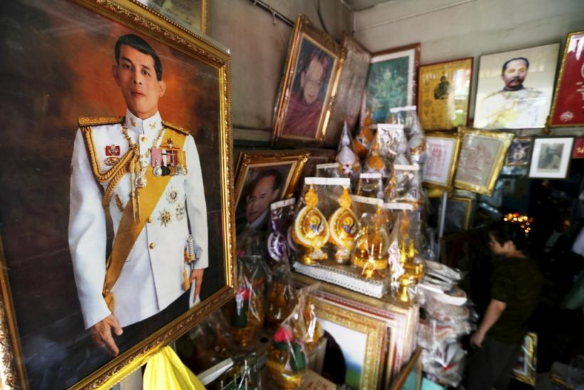 Thai crown prince Maha Vajiralongkorn