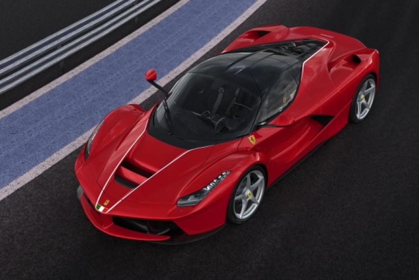 'One-Of-A-Kind' LaFerrari Is Most Expensive 21st Century Car Sold At Auction