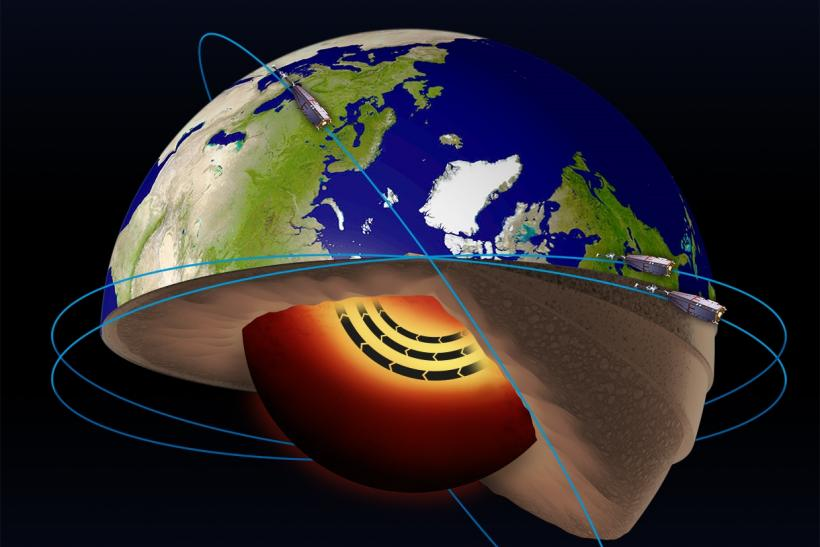 Jet Stream Found In Earth's Core