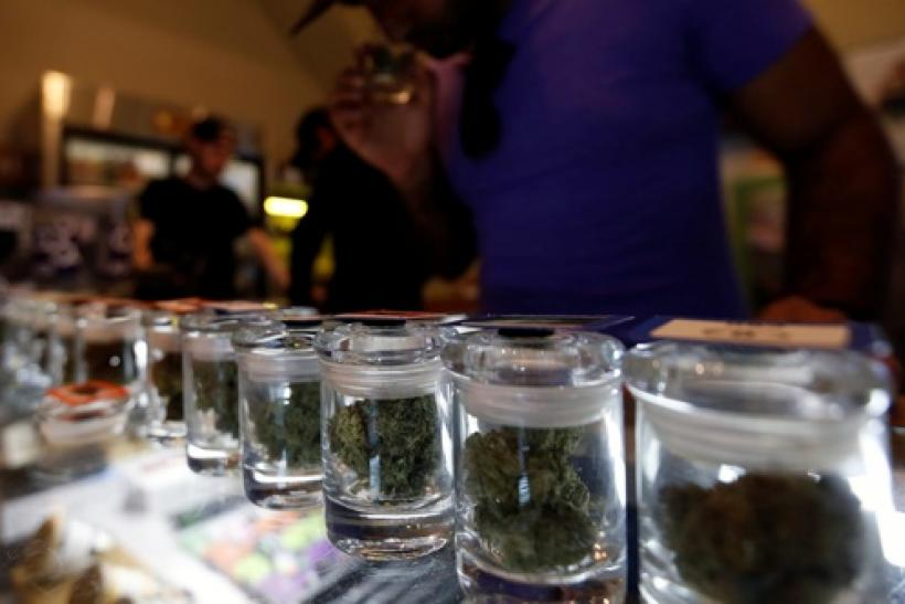 Marijuana sales increase during the holidays.