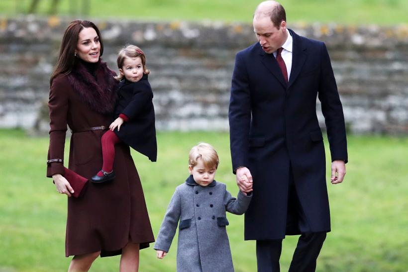 Prince William, Kate, Princess Charlotte, Prince George