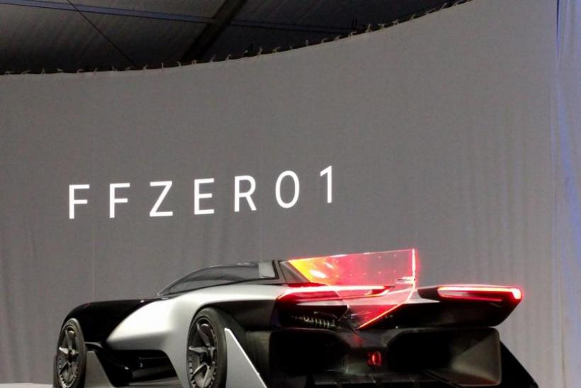 Faraday Future Car At Ces 2017 Watch Livestream Of Production Vehicle Reveal
