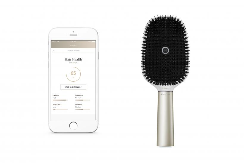 CES 2017 Preview  First  Smart Hairbrush  Revealed Ahead Of Consumer  Electronics Show In Las Vegas 9153d49a8a6
