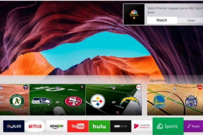 Samsung Adds Smart TV Services For Sports, Music And Video