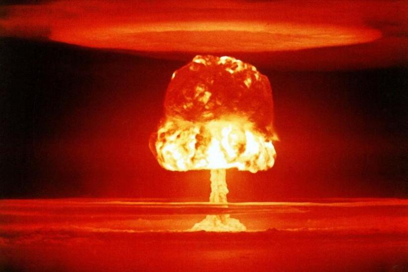 h-bomb, atomic bomb, nuclear explosion