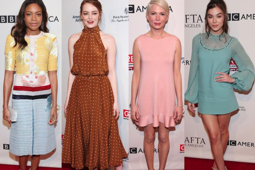 Naomie Harris, Emma Stone, Michelle Williams, Hailee Steinfeld
