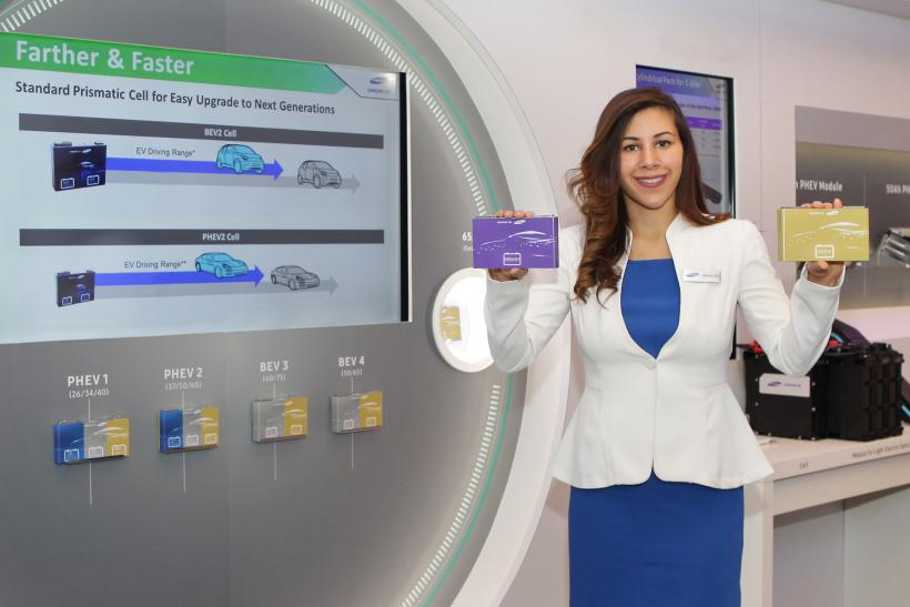 Samsung Electric Vehicle Battery