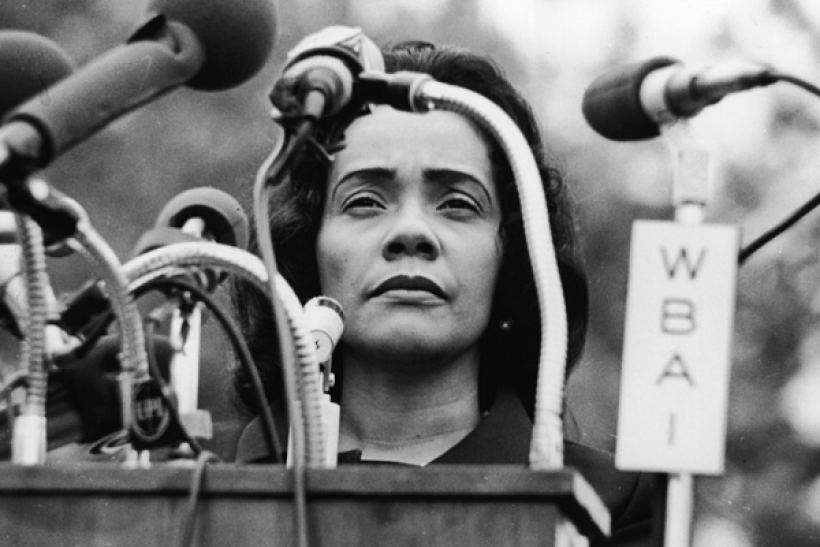 Find out more about Martin Luther King, Jr.'s wife, Coretta Scott King.