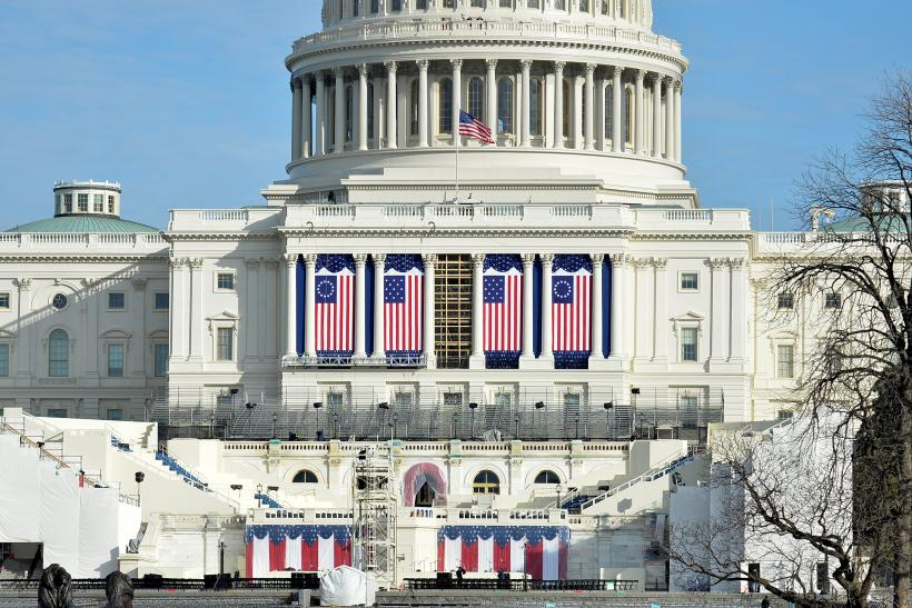 Trump Inauguration Parade Route Info Start Time Map Participants - Map-of-the-us-capitol-building