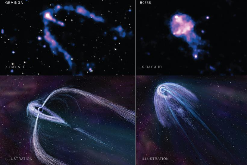 Pulsar Emission Signatures: NASA Chandra X-Ray Observatory Images Reveal Crucial Clues About Variations