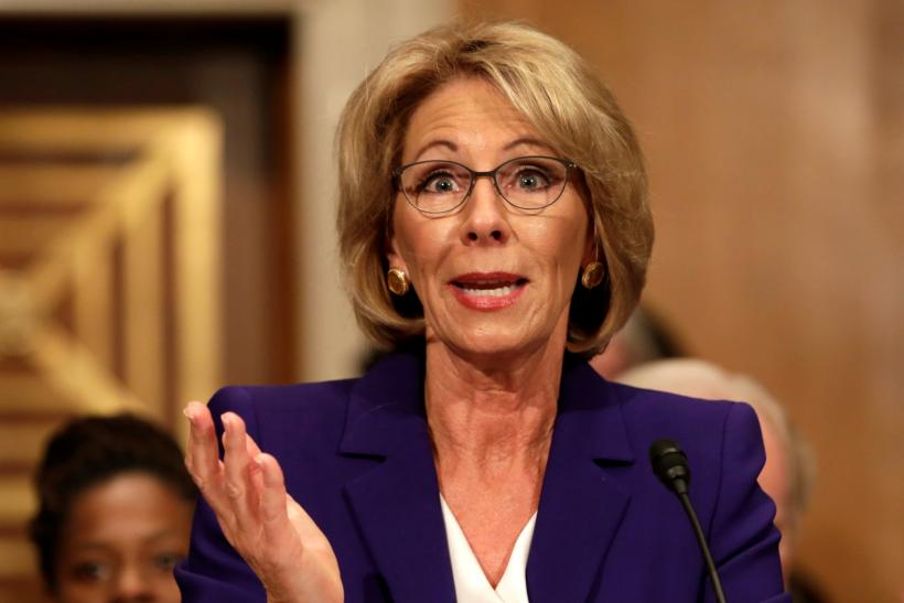 Betsy Devos Is Wrong About >> Donald Trump Education Secretary How Betsy Devos