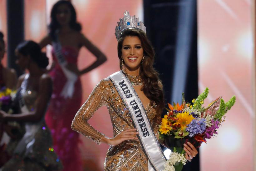 who is iris mittenaere miss france crowned miss universe. Black Bedroom Furniture Sets. Home Design Ideas