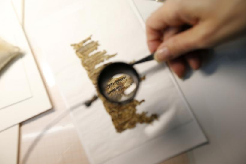 Cave once containing Dead Sea Scrolls discovered in a Judean dessert.